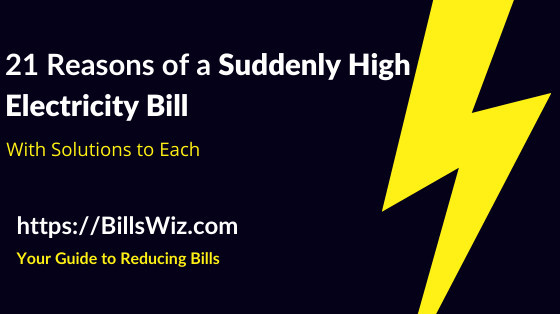 Why Is Electricity Bill So High Suddenly