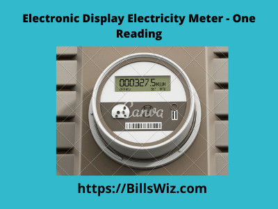 Reading Electronic Electricity Meter