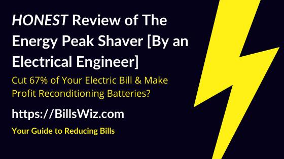 Energy Peak Shaver Scam Review