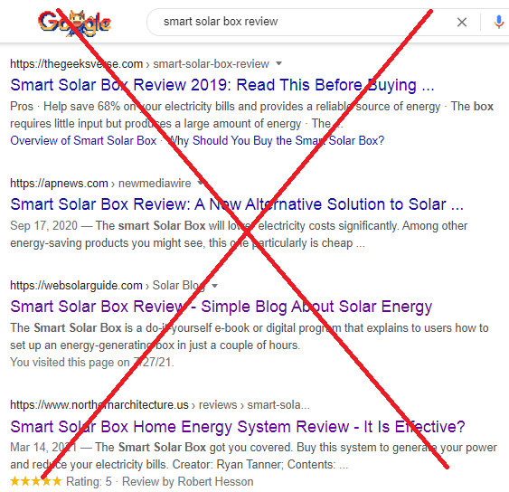 Is Smart Solar Box a Scam