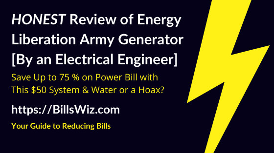 Energy Liberation Army Generator Scam Review
