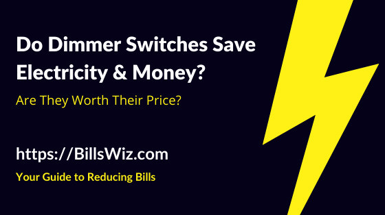 Do Dimmers Save Electricity
